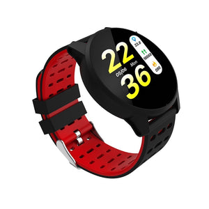 CHOALL Sport Smart Watch IP67 Waterproof Bluetooth Call Reminder heart rate blood pressure monitor Cycling Outdoor Watches LCD Smartwatch for IPhone Android Black Blue Gray Red Green