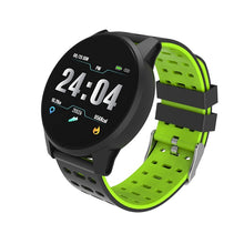 Load image into Gallery viewer, CHOALL Sport Smart Watch IP67 Waterproof Bluetooth Call Reminder heart rate blood pressure monitor Cycling Outdoor Watches LCD Smartwatch for IPhone Android Black Blue Gray Red Green