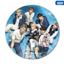 Load image into Gallery viewer, 2Pcs Kpop Bts Bangtan Boys Badge Suga Jimin Jung Kook Chest Pin Brooch Jewelry Fashion 2019