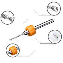 Load image into Gallery viewer, 10 Pcs PCB Print Circuit Board Carbide Micro Drill Bits Tool 0.3mm to 1.2 mm Hot Seller