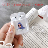 even go Earphone Transparent Case Cover For Apple Airpods( Only Transparent Airpods Case)