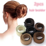 Magic Hair Styling Hair Tool Head Band Ball Twist Magic DIY French Curly Hair Treasure Hair Braiding Tool