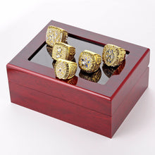 Load image into Gallery viewer, New Super Bowl Cowboys Championship Ring Set with Wood Box Case