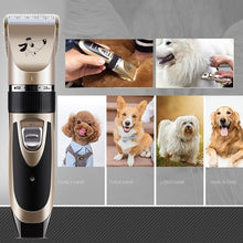 Load image into Gallery viewer, 7/11PCS Electric Pet Hair Trimmer Set Pet Shaver Set Rechargeable Dog Cat Hair Shaver Low-noise Razor Grooming Fur Clippers