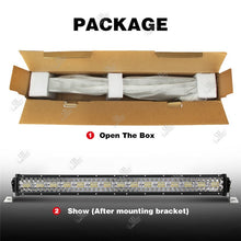 Load image into Gallery viewer, LED Light Bar 32inch 780W 42inch 1040W LED Work Light Bar Spot Flood Combo Off-road Light Driving Light LED Fog Light