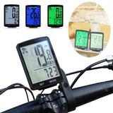2.8inch Multifunctional LCD Screen Bicycle Odometer Computer Wireless Rainproof Waterproof Bike Speedometer