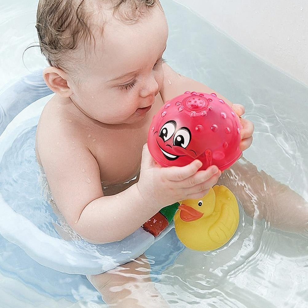 Electric Automatic Induction Sprinkler Toy Bath Toy Spray Water Toy Cute Light Play Bath Toy Water Toys