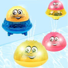 Load image into Gallery viewer, Electric Automatic Induction Sprinkler Toy Bath Toy Spray Water Toy Cute Light Play Bath Toy Water Toys