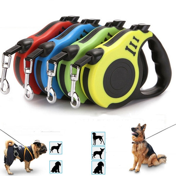 Automatic Retractable  Dog Leash  Pet Supplies 3M /5M Cat Puppy Lead Traction Rope Dog Pets Leash