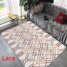 Load image into Gallery viewer, Fashion Modern Area Rugs Geometric Pattern Carpet Nordic Simple Living Room Coffee Table Room Bedroom Floor Rug Mat Kids Crawling Tapete