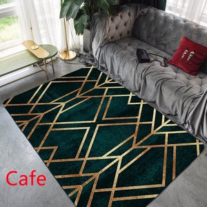Fashion Modern Area Rugs Geometric Pattern Carpet Nordic Simple Living Room Coffee Table Room Bedroom Floor Rug Mat Kids Crawling Tapete