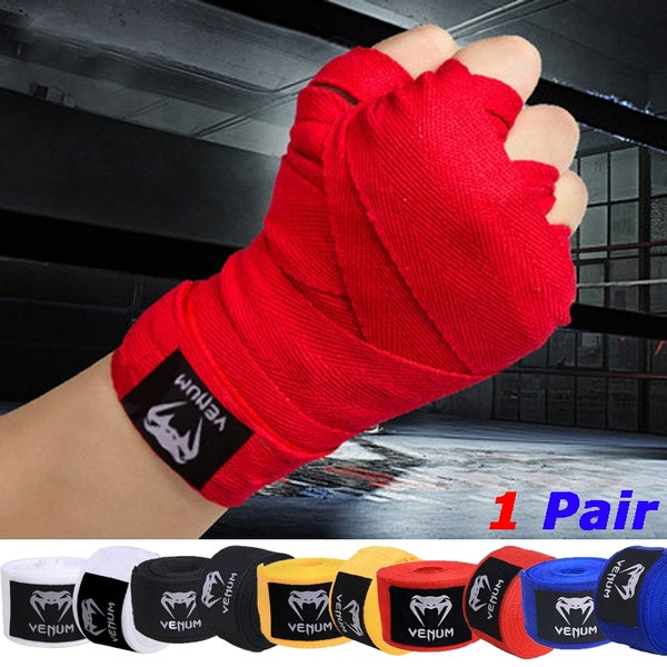 New Sports Boxing Fist Inner Handwraps Padded Bandages Boxing Wrist Protective Bandages(1 Pair)