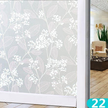 Load image into Gallery viewer, 100*60 cm 39.37''*23.6''inch Window Film PVC Frosted Opaque Privacy Glass Window Films Waterproof Bathroom Glass Stickers ( 43 Styles)