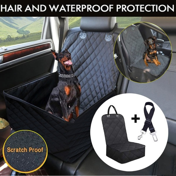 Dog Car Seat High Quality Dog Car Seat Covers for Cars Trucks and Suv Waterproof & Nonslip-Standard Seat Cover Protector for Pets Contains Gifts