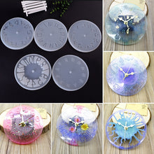 Load image into Gallery viewer, 5 Types Creative DIY Handmade Resin Clock Mold Silicone Bell Mold DIY Craft Arts