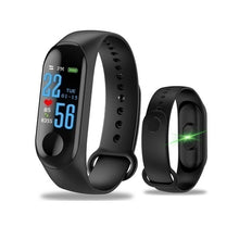 Load image into Gallery viewer, Smart Wristband Color Screen USB Charging Bracelet Heart Rate Blood Pressure Bluetooth Bracelets Smart Band