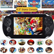 Load image into Gallery viewer, Classic Toys 4GB/8GB 4.3 Inch Free 3000 Games Handheld Game Player Video Game Console MP4 MP5 Players