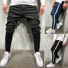 Load image into Gallery viewer, Men's Denim Fabric Casual Sports Personality Side Stitching Jeans