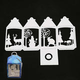 1Pc Practical Christmas Box Metal Cutting Dies Stencils for DIY Scrapbooking Photo Paper Card
