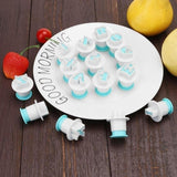 Baking Pastry Mold Upper&Lowercase Alphabet and Numbers Cookie Fondant Cutter Baking Cupcake Mold Cake Decorating Tools