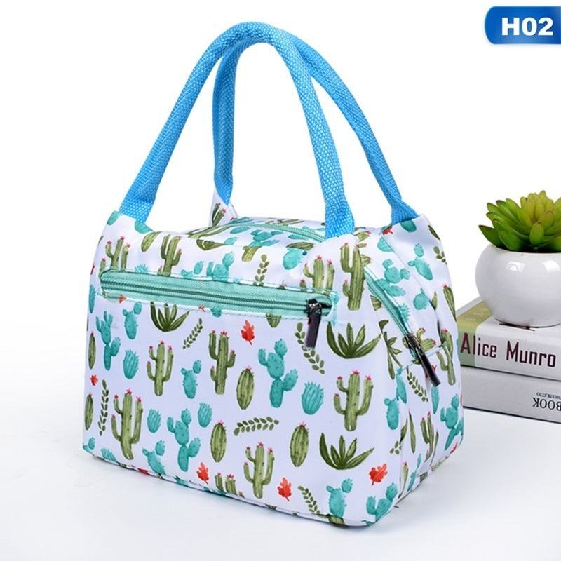 Portable Food Insulation Lunch Bag Handbag Camp Picnic Storage Cooler Bag