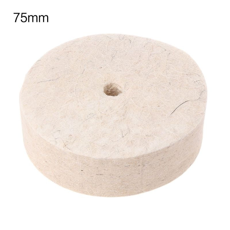 Drill Grinding Wheel Buffing Wheel Felt Wool Polishing Pad Abrasive Disc For Bench Grinder Rotary Tool JHS