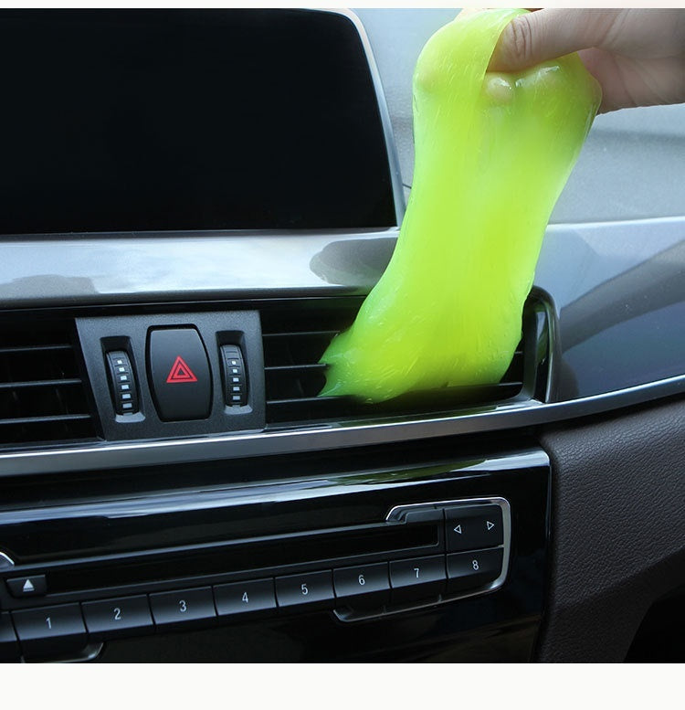 Recycling Gel,Car Interior Cleaning,Furniture Dead Corner Cleaning, Corner Cleaning Gel, Computer Keyboard Cleaning, Air Conditioning Outlet Cleaning, Environmental Protection,