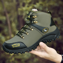 Load image into Gallery viewer, Hiking Boots Men's Winter Warm Boots Waterproof Boots Outdoor Sports Shoes Snow Boots for Men