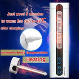 2020 New Men's Masturbator Cup Smart Induction Heating Masturbating Cup Fully Automatic Auto Suck Usb Charging Sex Toy Handsfree Induced Vibration Masturbator Sex Product (Secret Packing)