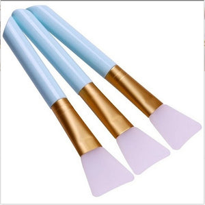 Silicone Face Mask Brushes, Face Mud Mask Mixing Brush Cosmetic Makeup Brushes,DIY Tool Cosmetic Makeup