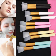 Load image into Gallery viewer, Silicone Face Mask Brushes, Face Mud Mask Mixing Brush Cosmetic Makeup Brushes,DIY Tool Cosmetic Makeup