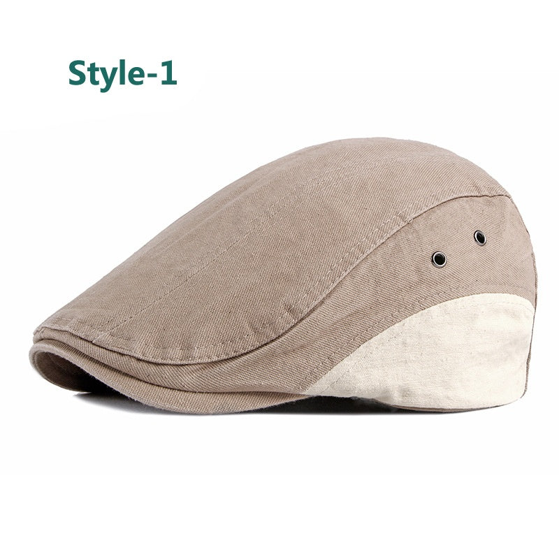 Spring Cotton Flat Ivy Gatsby Newsboy Driving Hat Cap