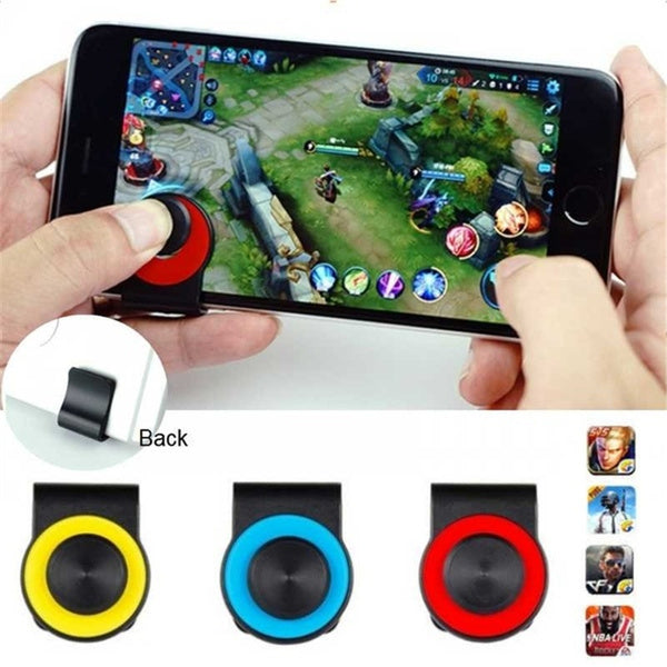 1pcs Game Joystick PUBG Button with Clip Smartphone Mobile Phone Joysticks Controller Joypad Game Rocker