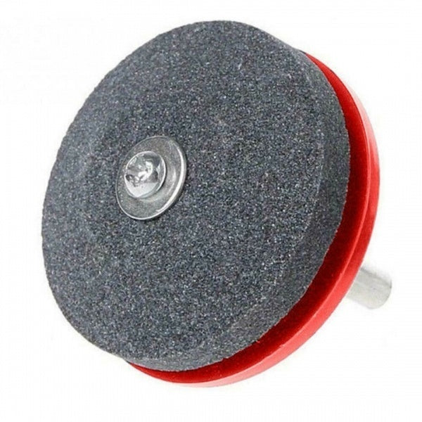 50mm Rotary Lawn Mower Lawnmower Blade Garden Tool Sharpener For Power Drill