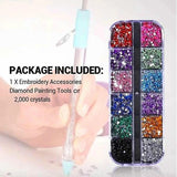 Diamond Painting Kit Cross Stitch Embroidery Tool Manual Point Drill Pen Rhinestone Crystal