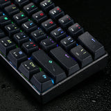 Motospeed 61Keys Mini Gaming Mechanical Keyboard 16.8 Million RGB Backlight 0.8 Billion Clicking Life