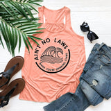 Letter Print Women Casual Tank Top New Fashion Sexy Sleeveless Cotton T-shirt