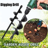 Garden Planter Auger Drill Bit Drill Head for Digging Hole for Garden Yard Planting Farm Agricultural