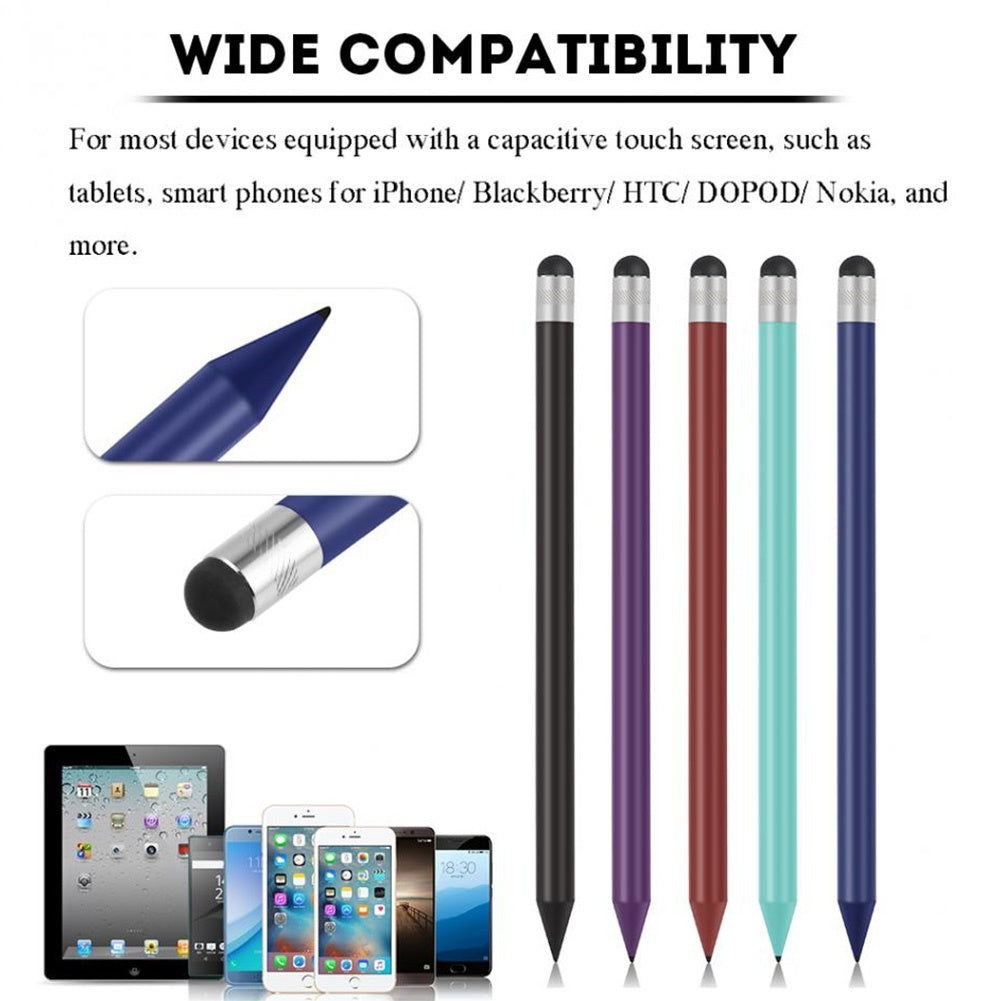 Capacitive Touch Stylus Pen Pencil For iPad Tablet Mobile Phone Resistive (Multicolor)