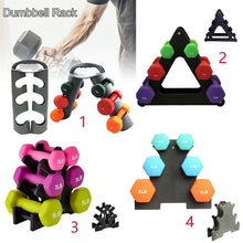Load image into Gallery viewer, 4 Styles Dumbbell Rack Storage Fixed Combination Dumbbell Fitness Equipment