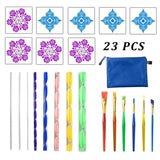 Mandala Dotting Tools for Painting Rocks Mandala Painting Dotting Stencil Dot Mandala Kit