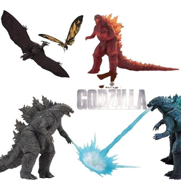 The Movie Godzilla King Of The Monsters Mothra And Roman Action Figures Model Pvc Figurines Collectible Toys