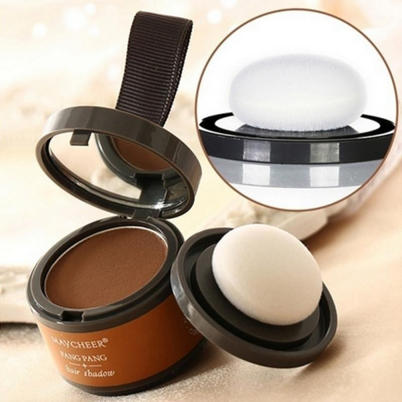 Women Fashion Beauty Makeup Waterproof Long Lasting Hairline Shadow Powder Hair Repair with Puff
