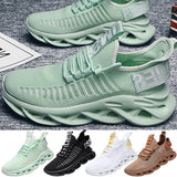 Mens Breathable Running Shoes Mesh Lightweight Sport Tennis Shoes Gym Athletic Sneakers