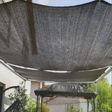 Garden decor Outdoor Patio Sun Shade Cloth With Grommets, Garden Sun Shade Sails, Canopy Shelter Cover Sunshades For Yard