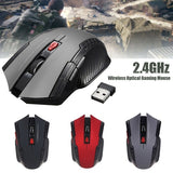 Cool Gaming 1600DPI 2.4GHz Wireless Optical Mouse Gamer for PC Gaming Laptops New Game Wireless Mice with USB Receiver Drop Shipping Mause