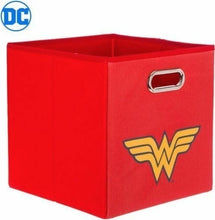 Load image into Gallery viewer, DC Comics Wonder Woman Logo Collapsible Laundry Basket/Store Bin