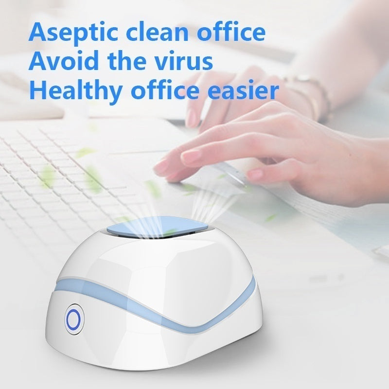 High Quality Update Household New Air Purifier Ozone Generator Ionizer Smoke Remover Cleaner Room Sterilization Anti Virus Disinfector