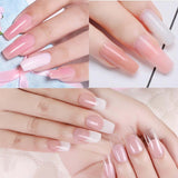 Polygel DIY Building Mold Poly Gel Forms Dual Nail Art Extension UV Builder Tips