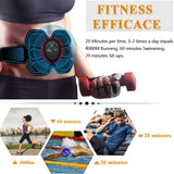 EMS Massager for Weight Loss,Abs Trainer for Men Women & Bodybuilders Fat Burning Gear Slimming Massager